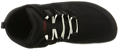 Sole Runner Naiad, Scarpe Stringate Derby Unisex – Adulto Nero (Black/White)