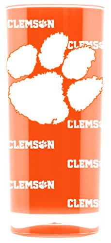- NCAA Clemson Tigers 16oz Insulated Acrylic Square Tumbler