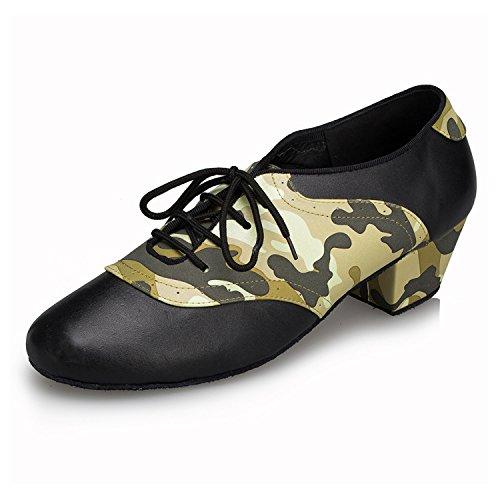 Miyoopark , Salle de bal homme - Vert - Black/Green-4.5cm heel, 40 EU
