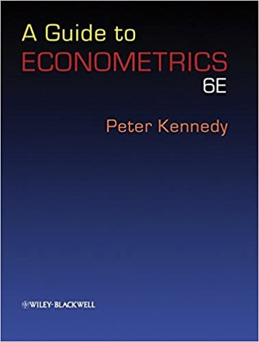 A guide to econometrics 6th edition 9781405182577 economics books a guide to econometrics 6th edition 9781405182577 economics books amazon fandeluxe