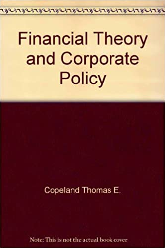 Book Financial Theory and Corporate Policy