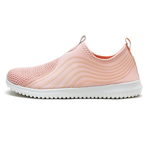 Shell DREAM Women's PAIRS Dry Casual Shoes Walking Quick Sports Pink Water Sneakers q4Awrq
