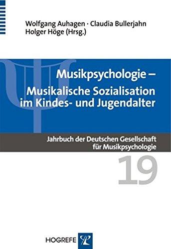 Musikpsychologie  Musikalische Sozialisation Im Kindes  Und Jugendalter