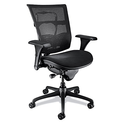 WorkPRO Mesh Mid-Back Chair, Black