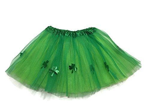 Rush Dance Ballerina St Patrick's Day Shamrock Clover Costume Tutu -