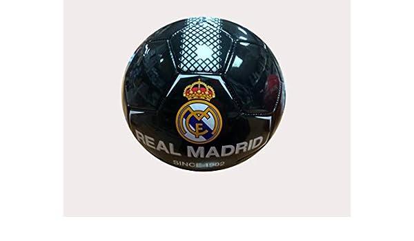 REALMADRID Real Madrid Balón de fútbol Unisex niños, Negro Talla 2 ...
