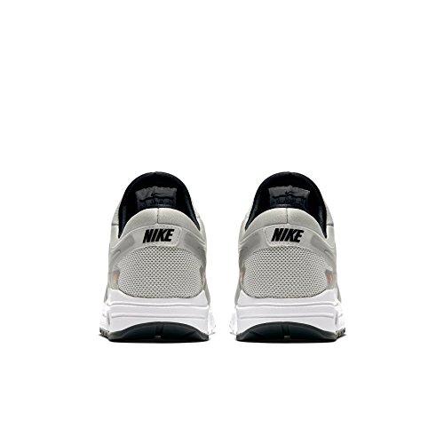 Nike Air Max Zero Qs Gs Running Trainers 921074 Scarpe Da Ginnastica Scarpe Argento Metallizzato 001