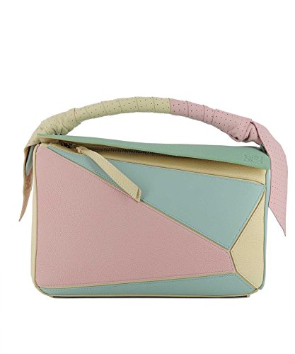 Loewe Women's 32212Cs209990 Multicolor Leather Shoulder Bag
