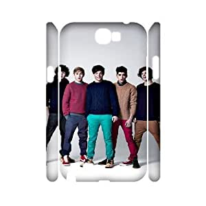 huyny diy C-EUR One Direction Customized Hard 3D Case For Samsung Galaxy Note 2 N7100