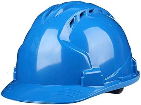 調節可能な安全ヘルメット - 夏に通気性があり、涼しく保ちます、ABS (Color : B)