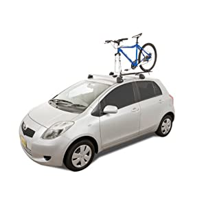 Rhino Rack Road Warrior Roof Top Bike Carrier for Fork Mounted Bikes