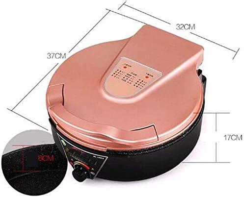 YAOSHUYANG Barbecue Et Hot Pot Pot Double Barbecue électrique Plat de Cuisson Multifonctions Anti-adhérent Tous Stovetop Puissant sans fumée Hot Pot Rose 1800W