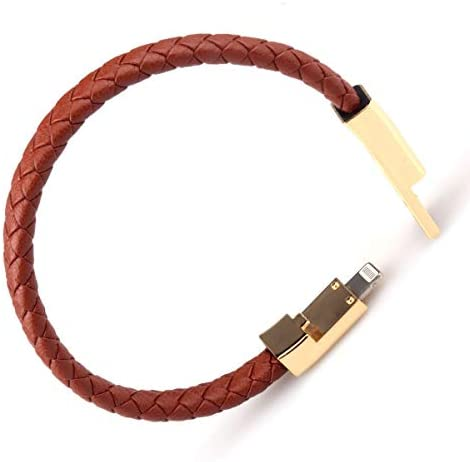 GVUSMIL Leather Charging Bracelets Portable product image