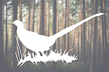 Vinyl Sticker Waterproof Decal Pheasant