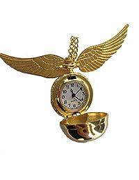 ZHEBAO Retro Pocket Watch Angel Wings Flip Cover Antique Quartz Male and Female Decoration