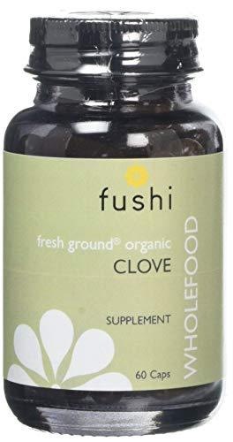 Fushi Organic Clove Capsules, 60 Caps | Fresh-Ground Whole Food | Rich in Protein, Iron, Calcium, Potassium & Vitamins A…