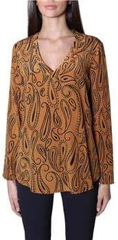 ASPESI - Camisa para Mujer, diseño de fantasía, Color Beige, 38: Amazon.es: Deportes y aire libre