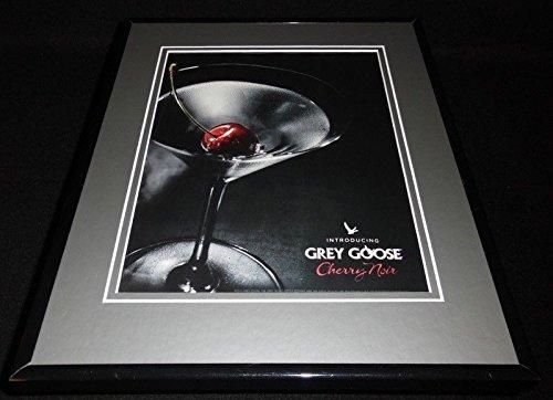2012 Grey Goose Cherry Noir Vodka Framed 11x14 ORIGINAL Advertisement ()