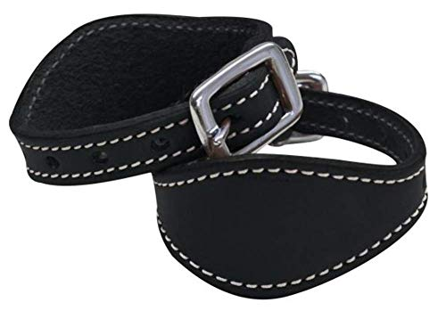 Stitched Leather Stirrup hobbles