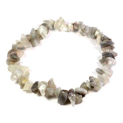 crystal chip bracelet - 8