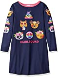 The Children's Place Big Girls' Long Sleeve Nightgown, Evening Blue 91441 91441, M (7/8)