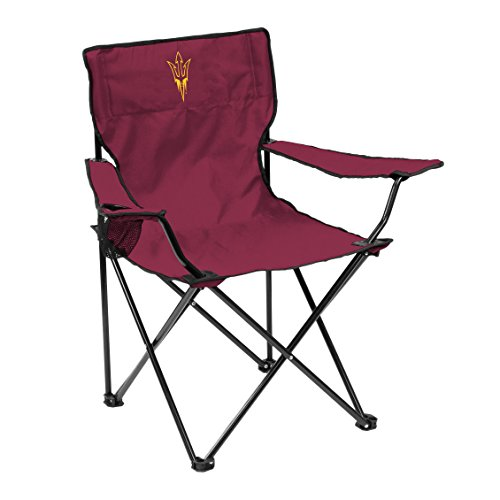 Logo Outdoor Chair (NCAA Arizona State Sun Devils Quad Chair, Adult, Red)