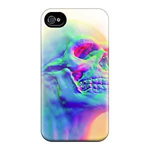 Awesome QxE9664DxBl MikeEvanavas Defender Tpu Hard Cases Covers For Iphone 6- 3d Effect Skull