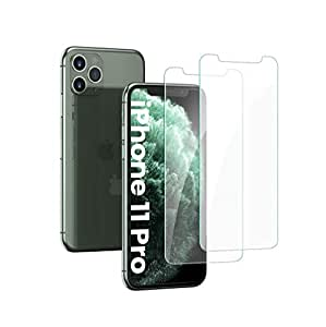 UGREEN Screen Protector 2 Pack for iPhone 11 Pro 5.8 Inch Tempered Glass iPhone 11 Pro Screen Protector Anti-Scratch with Alignment Frame