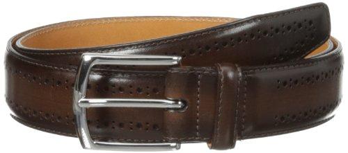 Allen Edmonds Men's Manistee Belt, Brown, 42