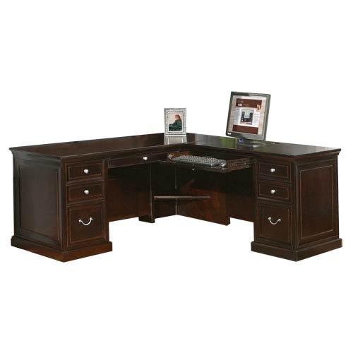 Martin Furniture FL684R; FL684R-R L-Shaped Desk, 68