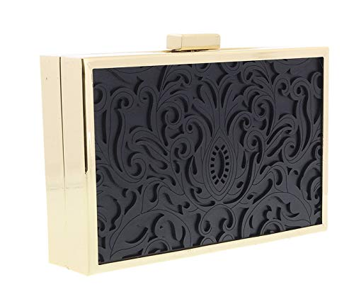 Womens Box Clutch for Roberto 999 Black Cavalli HXLPB3 w8f6xnqPA0