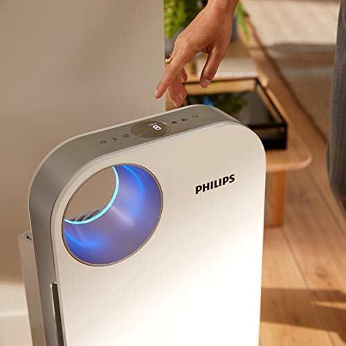 Philips AC4550/10 Purificateur d\'Air Connecté, Purifie Jusqu\'à 104 M2, Triple Filtration, Affichage Des Particules Fines en Temps Réel