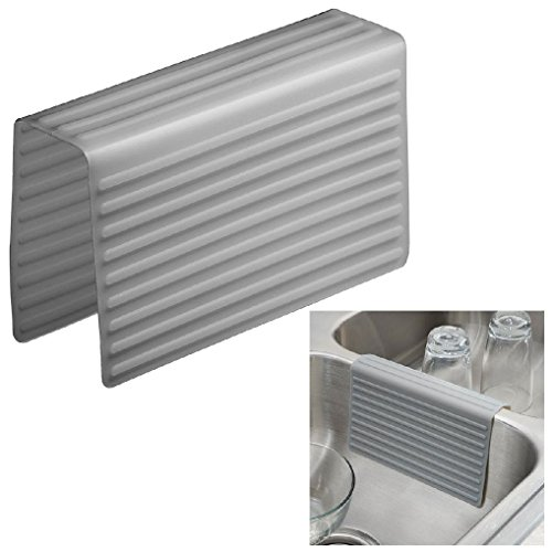 Kitchen Sink Saddle Double Sink Protector Cover - Red White or Grey by Dorigan Home Service