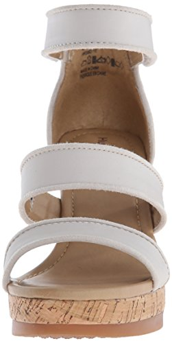 Zapatos Desteñido Mujer Tacón Puppies de Lucca Off Blanco Hush Elliston white Leather q8gwtq7