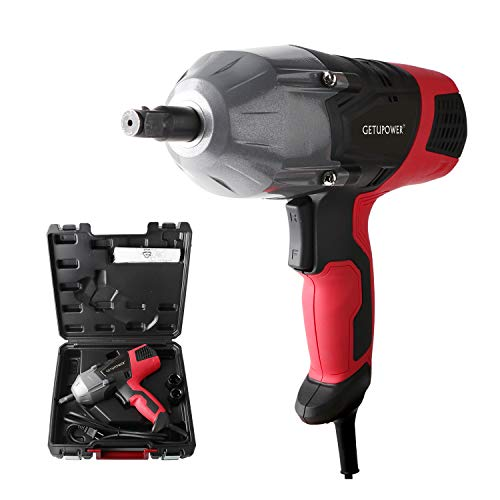 GETUPOWER 120 Volt Electric Impact Wrench 1/2 inch