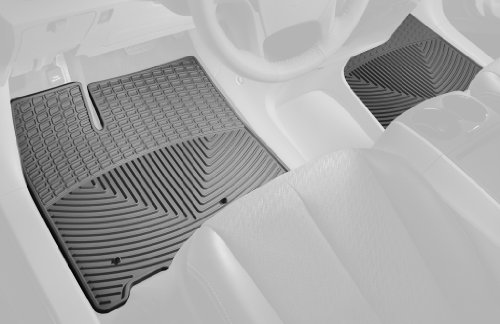 Weathertech 2005 Lincoln Aviator - WeatherTech Trim to Fit Front Rubber Mats for Sel Ford/Mercury/Lincoln Models (Gray)