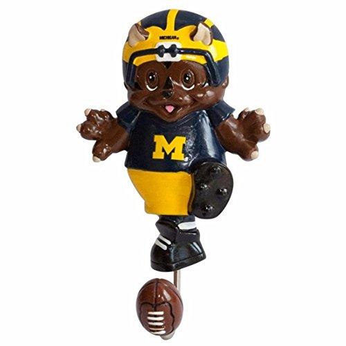 NCAA Michigan Wolverines Mascot Wall Hook (Wolverine Mascot)