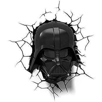 Amazon.com: 3D Light FX Star Wars Darth Vader 3D Deco LED Wall ...