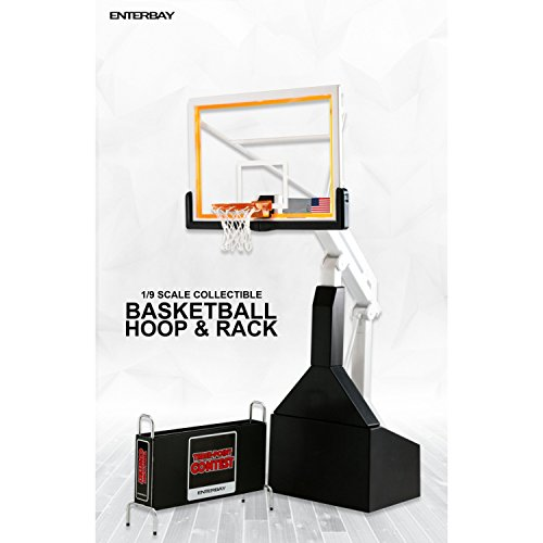 Enterbay Collectible 1:9 Basketball Hoop and Rack Real Masterpiece Figure Accessory