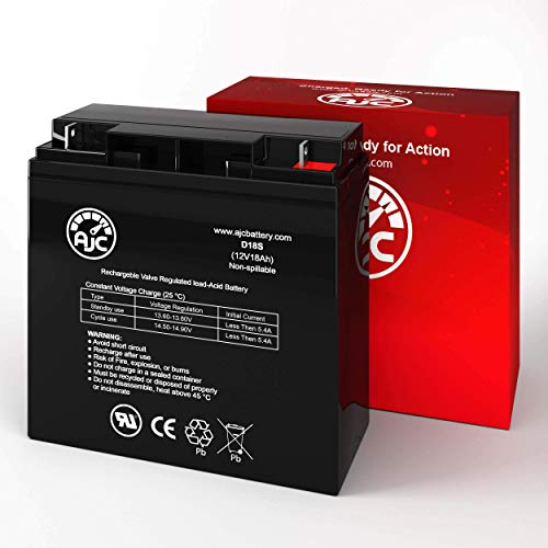Interstate BSL1116 12V 18Ah UPS Battery - This is an AJC Brand Replacement