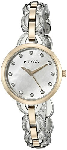 Bulova Women's 98L206 Analog Display Japanese Quartz Two Tone Watch