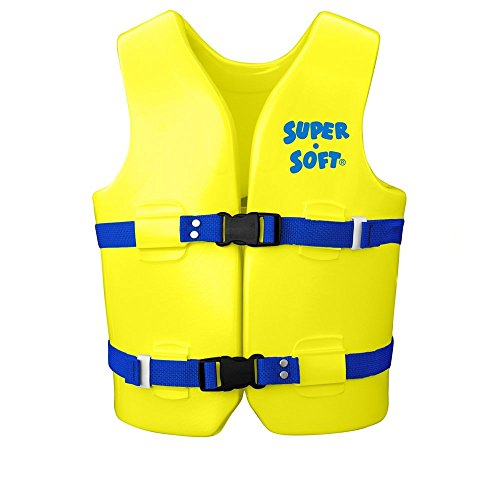 Trc Recreation Kids Super Soft Medium Vinyl Vest  Yellow