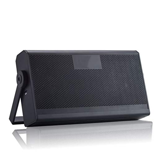 Wireless Bluetooth Portable Speaker Card Wireless Computer Bluetooth Speaker Outdoor Travel Swimming Pool Family Reunion Bluetooth Speaker (Color : Black)