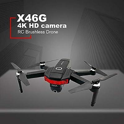 Silverdrew Plegable RC Drone Brushless Motor Drone Wifi FPV ...