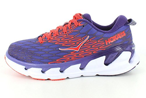 Hoka One One Tenis Vanquish 2 - Corsican Blue/Poppy Red