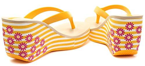 Ipanema Lipstick Thong III - Sandalias de material sintético mujer amarillo