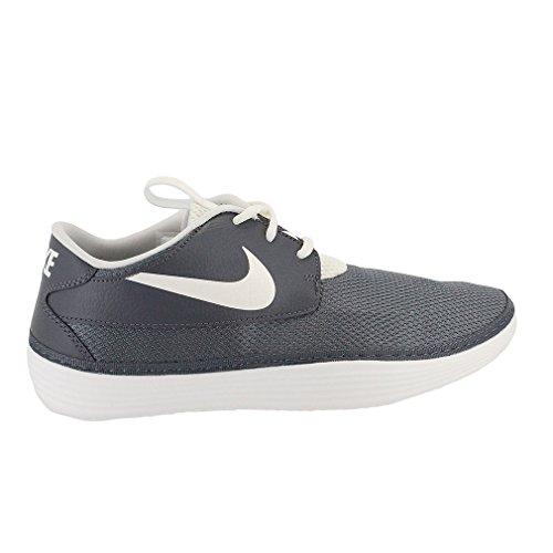 Para hombre de los zapatos atléticos Solarsoft Mocmens Dark Grey/Sail-Dark Grey