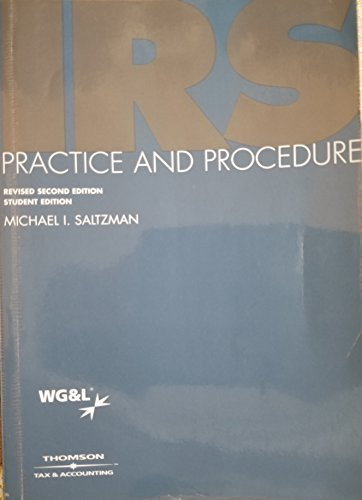 IRS Practice and Procedure: Revised 2nd Edition, 2006 Cumulative Student Supplement
