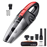 Audew Cordless Handheld Vacuum, 【Upgraded Version in July, 2019】 Hand Vacuum Cordless Rechargeable Pet Hair Vacuum, Car Vacuum Cleaner for Home and Car Cleaning