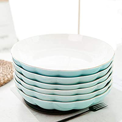 Plato de Comida y Plato de arroz Simple Paquete de 6 Platos ...